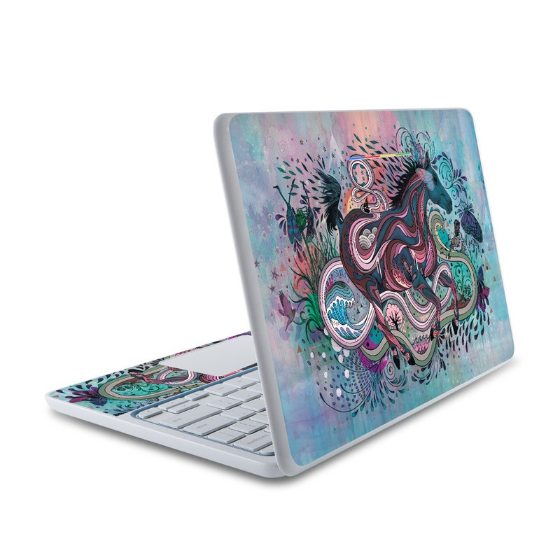Poetry in Motion HP Chromebook 11 Skin