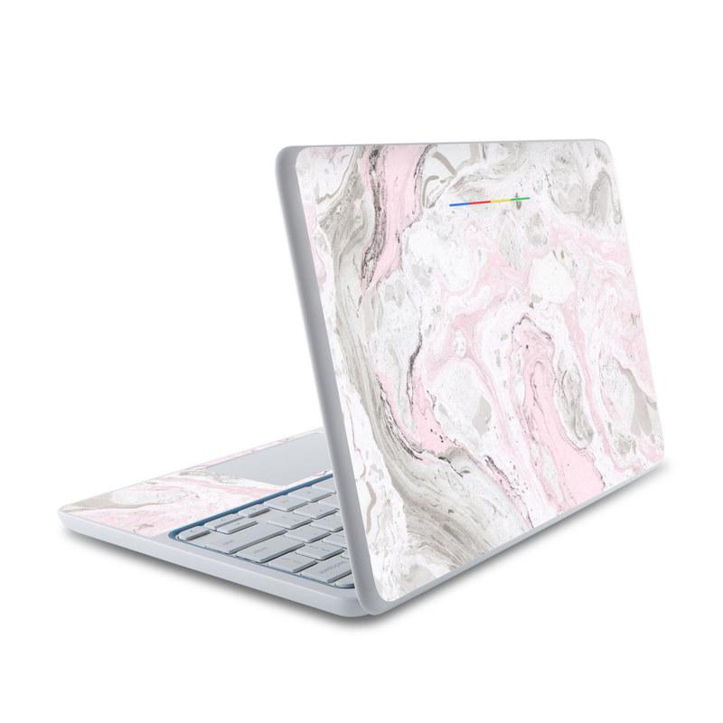Rosa Marble HP Chromebook 11 Skin