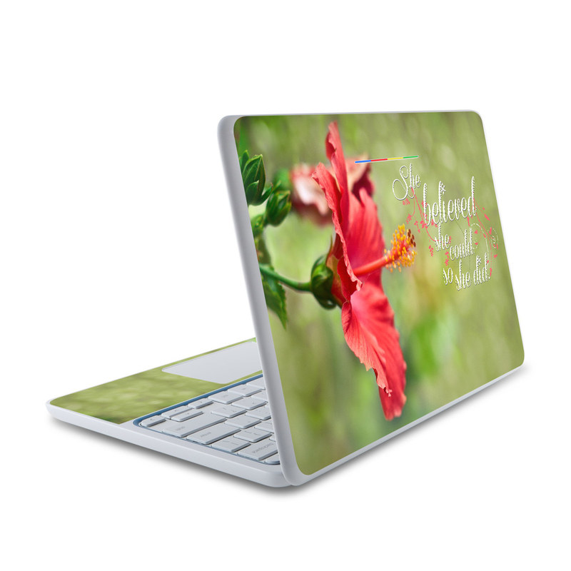 She Believed HP Chromebook 11 Skin