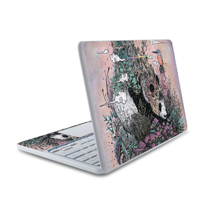 Sleeping Giant HP Chromebook 11 Skin