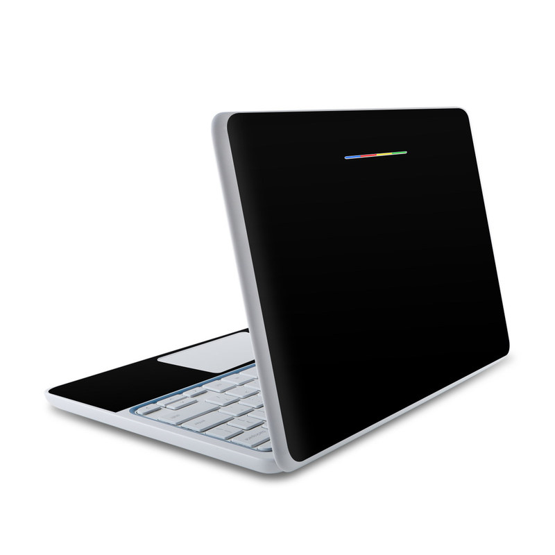 Solid State Black HP Chromebook 11 Skin