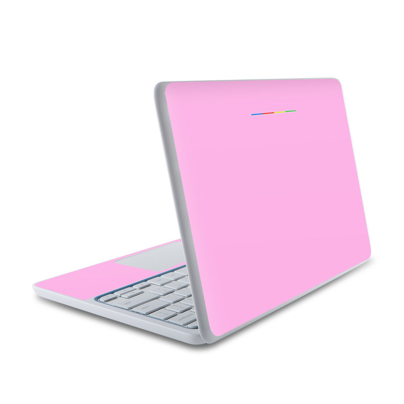 solid state pink hp chromebook 11 skin   covers hp