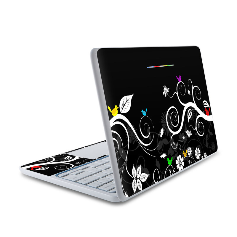 Tweet Dark HP Chromebook 11 Skin