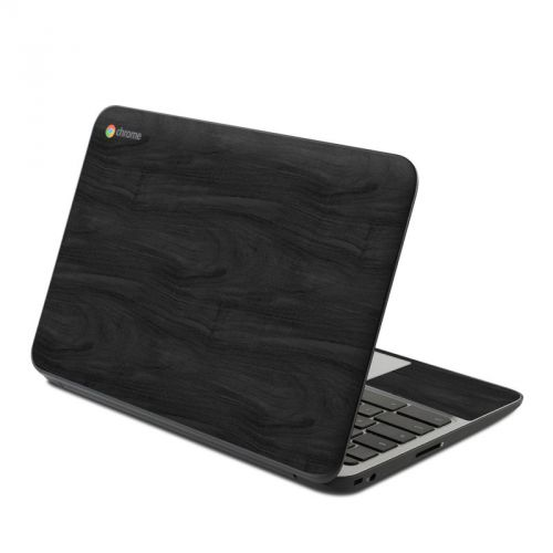 Black Woodgrain HP Chromebook 11 G4 Skin