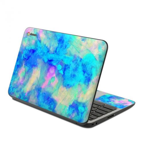 Electrify Ice Blue HP Chromebook 11 G4 Skin