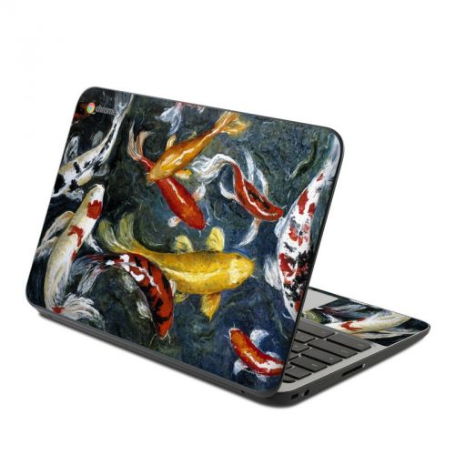Koi's Happiness HP Chromebook 11 G4 Skin