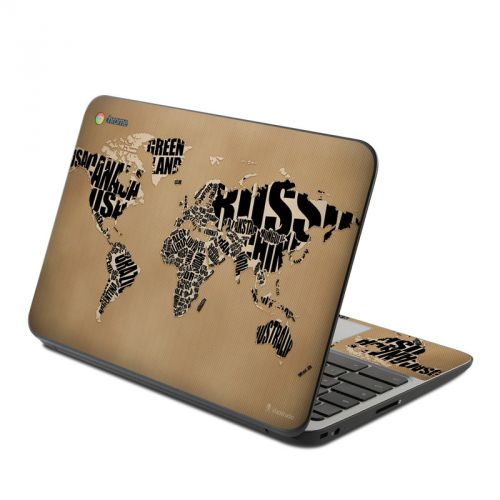 Type Map HP Chromebook 11 G4 Skin