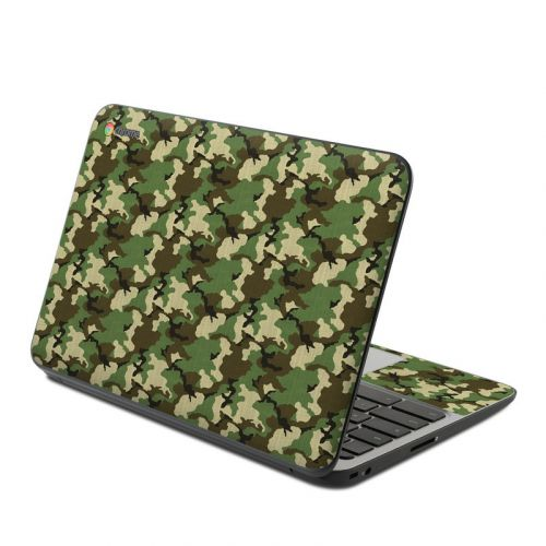 Woodland Camo HP Chromebook 11 G4 Skin