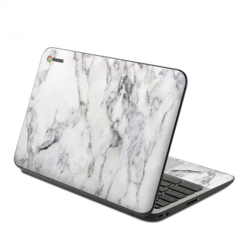 White Marble HP Chromebook 11 G4 Skin