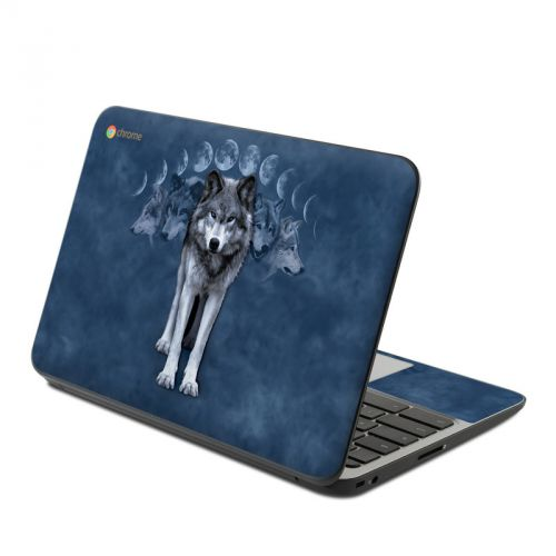 Wolf Cycle HP Chromebook 11 G4 Skin