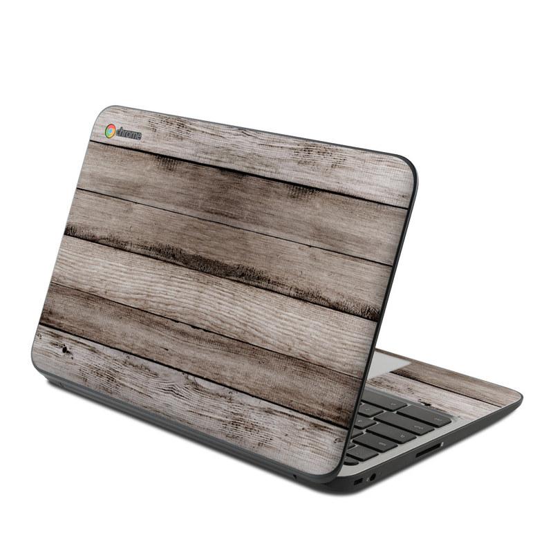 Barn Wood HP Chromebook 11 G4 Skin