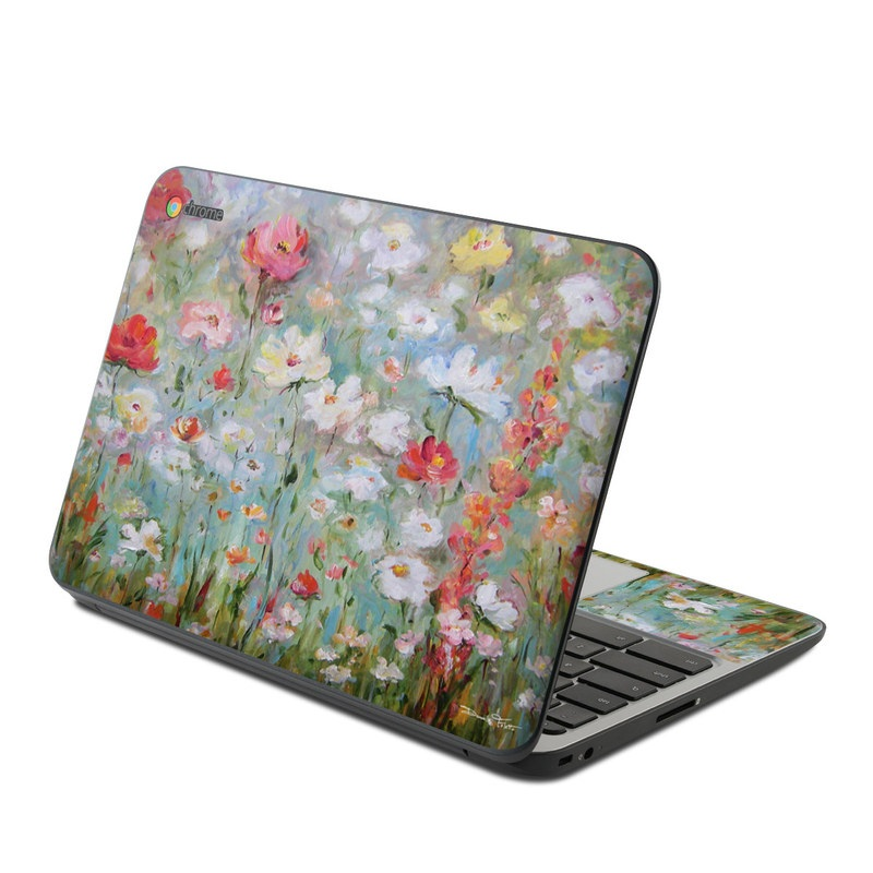Flower Blooms HP Chromebook 11 G4 Skin