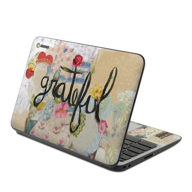 Grateful HP Chromebook 11 G4 Skin