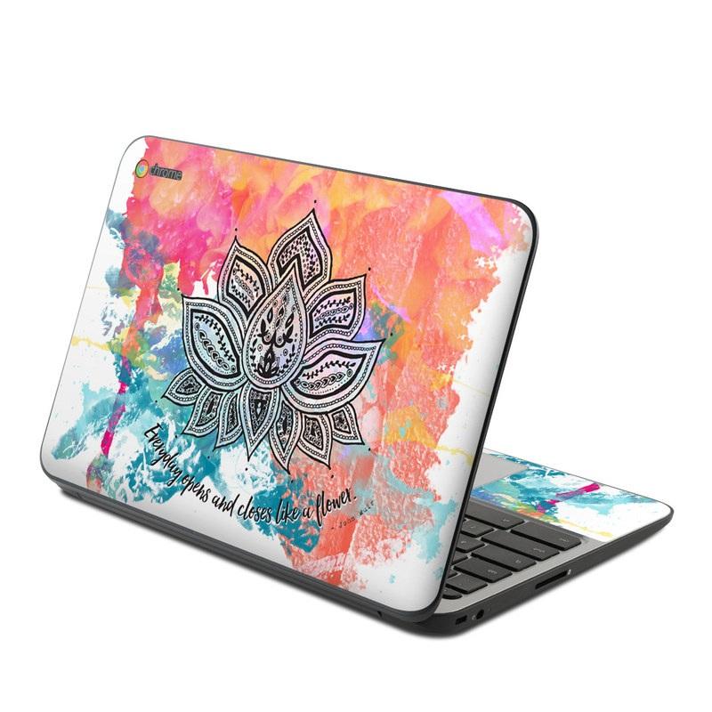 Happy Lotus HP Chromebook 11 G4 Skin