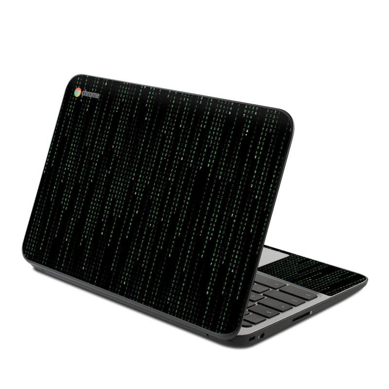 Matrix Style Code HP Chromebook 11 G4 Skin