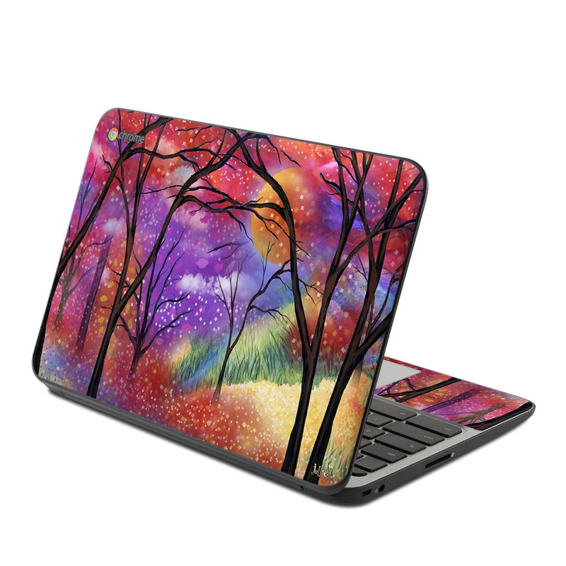 Moon Meadow HP Chromebook 11 G4 Skin