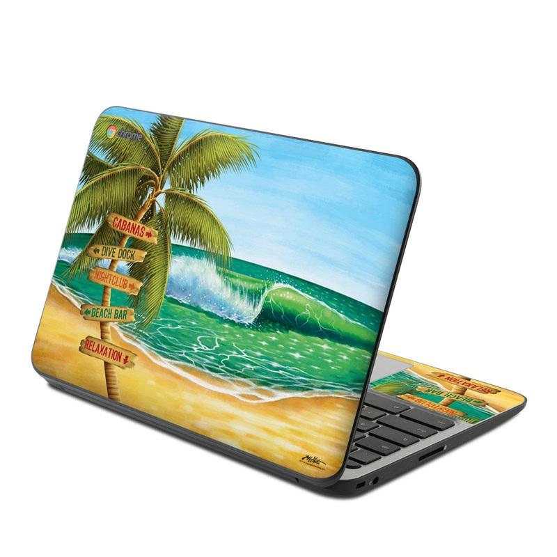 Palm Signs HP Chromebook 11 G4 Skin