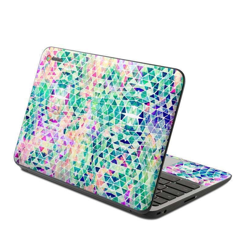 Pastel Triangle HP Chromebook 11 G4 Skin