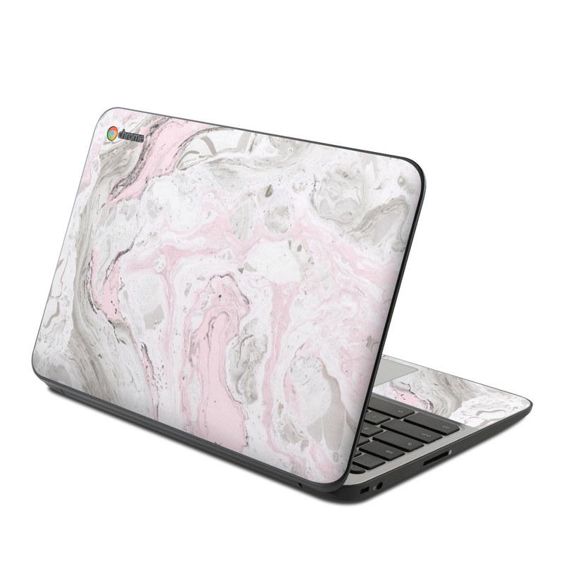 Rosa Marble HP Chromebook 11 G4 Skin
