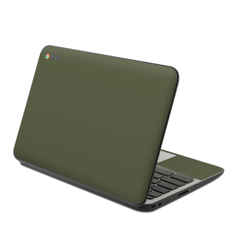 HP Chromebook 11 G4 Skin design of Green, Brown, Text, Yellow, Grass, Font, Pattern, Beige with green colors