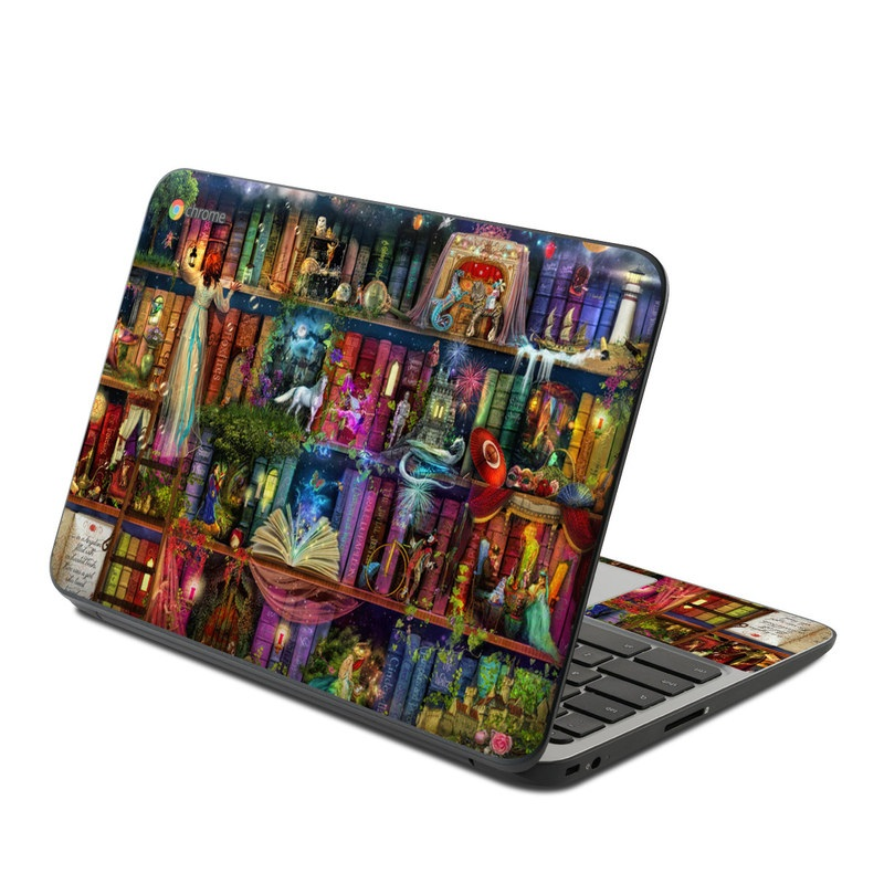 Treasure Hunt HP Chromebook 11 G4 Skin