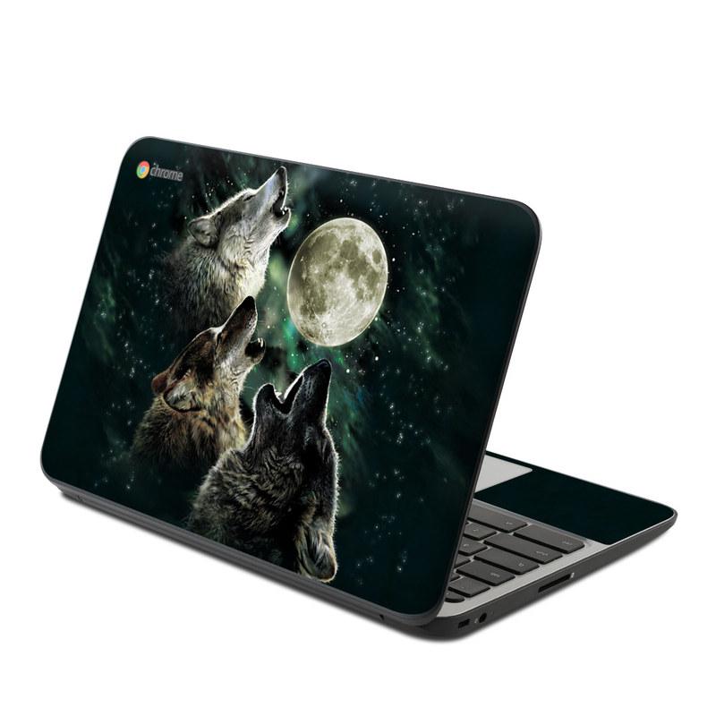 Three Wolf Moon HP Chromebook 11 G4 Skin