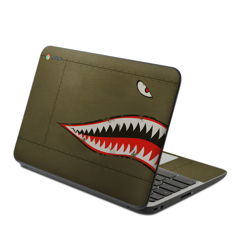 USAF Shark HP Chromebook 11 G4 Skin