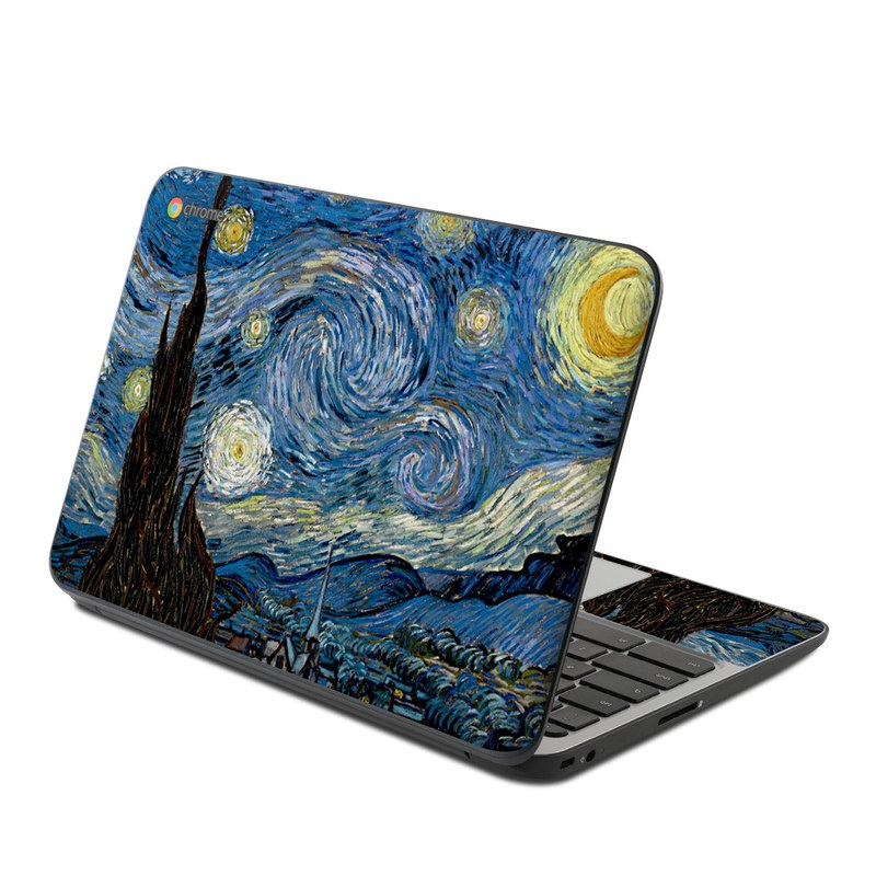 Starry Night HP Chromebook 11 G4 Skin