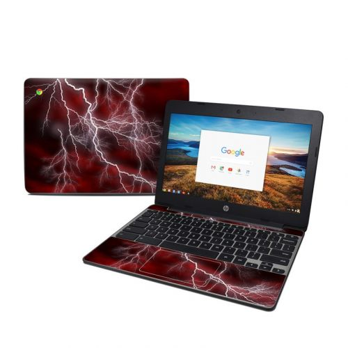 Apocalypse Red HP Chromebook 11 G5 Skin