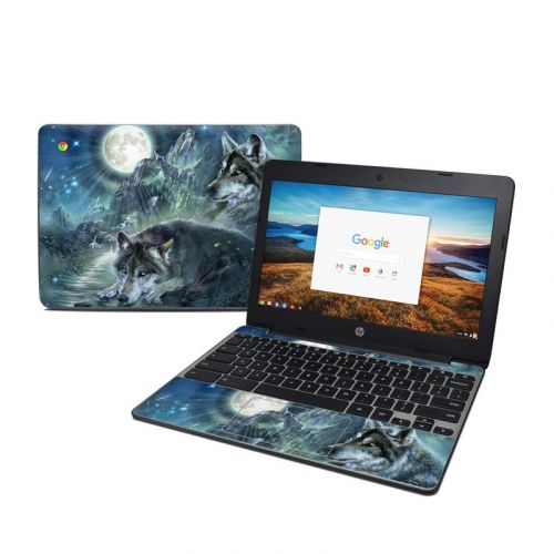 Bark At The Moon HP Chromebook 11 G5 Skin