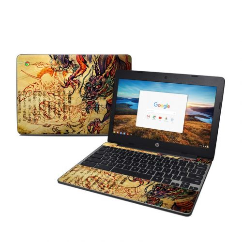 Dragon Legend HP Chromebook 11 G5 Skin