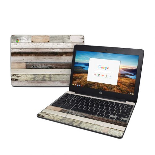 Eclectic Wood HP Chromebook 11 G5 Skin