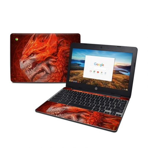 Flame Dragon HP Chromebook 11 G5 Skin
