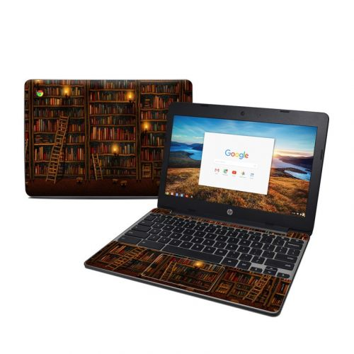 Library HP Chromebook 11 G5 Skin
