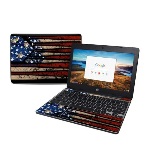 Old Glory HP Chromebook 11 G5 Skin