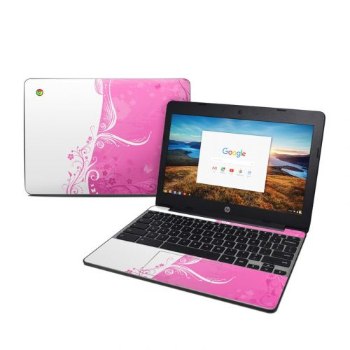 Pink Crush HP Chromebook 11 G5 Skin