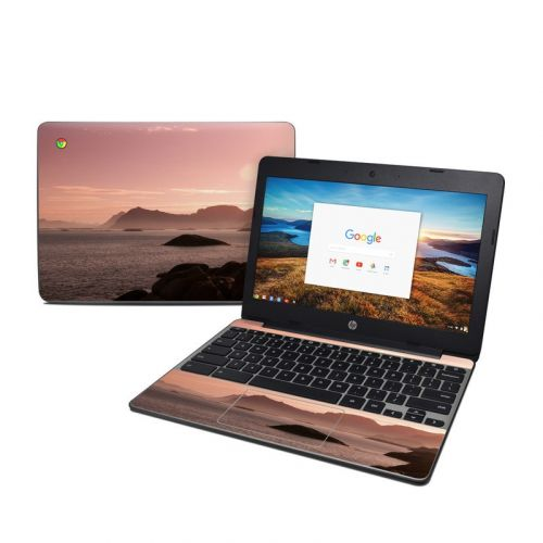 Pink Sea HP Chromebook 11 G5 Skin