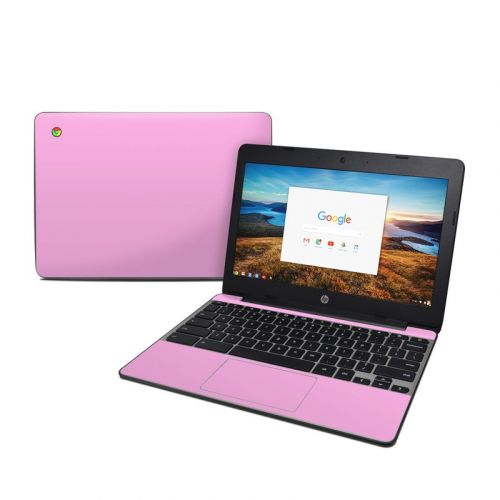 Solid State Pink HP Chromebook 11 G5 Skin
