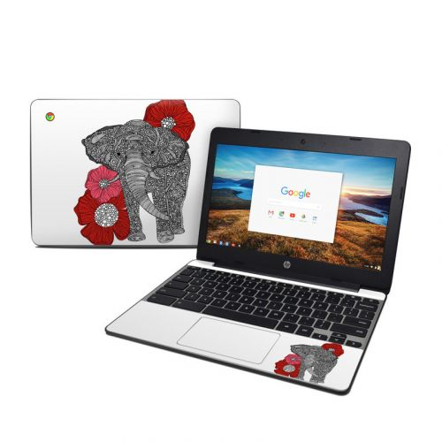 The Elephant HP Chromebook 11 G5 Skin