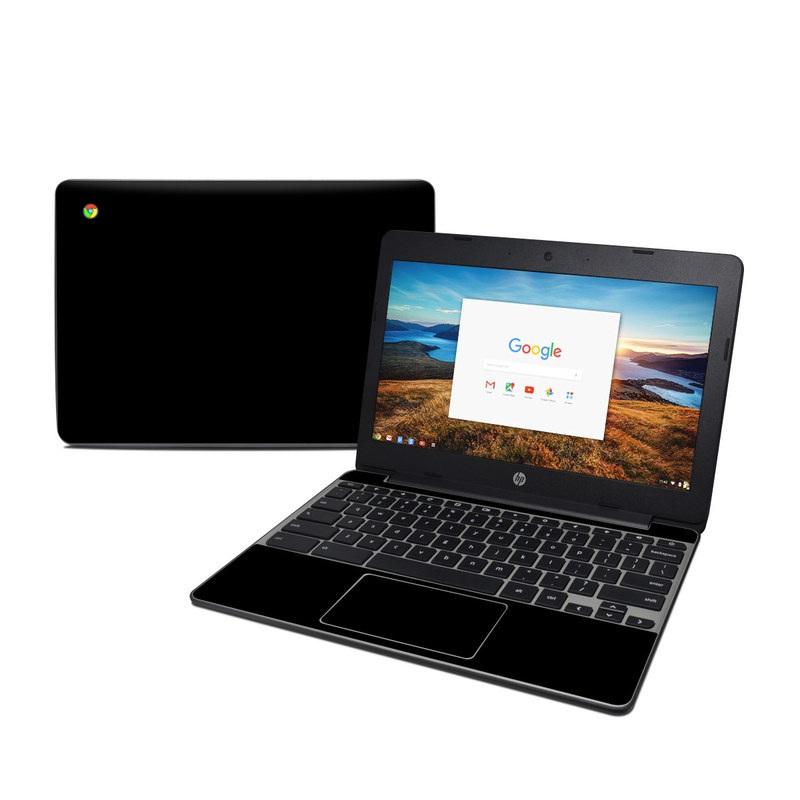 Solid State Black HP Chromebook 11 G5 Skin