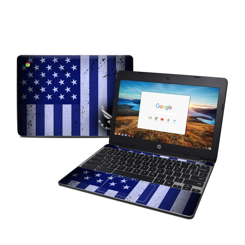 USAF Flag HP Chromebook 11 G5 Skin