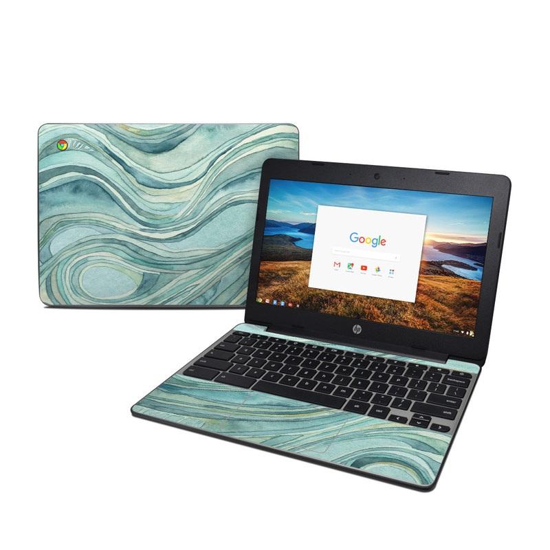 Waves HP Chromebook 11 G5 Skin