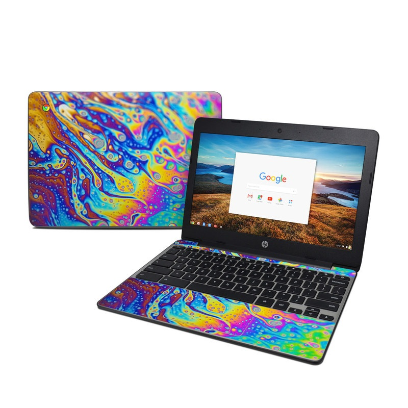 World of Soap HP Chromebook 11 G5 Skin