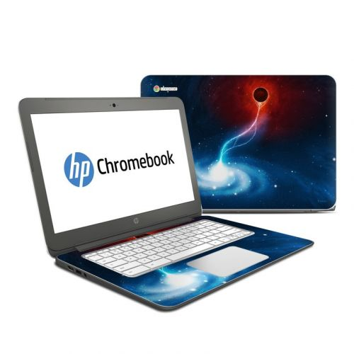 Black Hole HP Chromebook 14 Skin