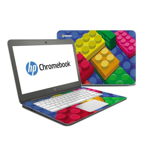 Bricks HP Chromebook 14 Skin