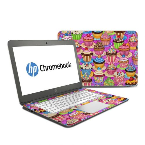Cupcake HP Chromebook 14 Skin