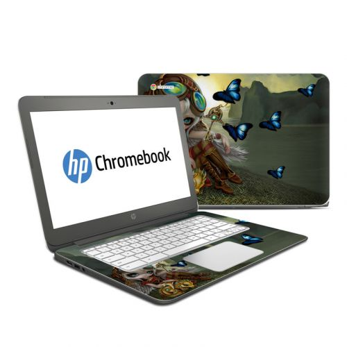 Clockwork Dragonling HP Chromebook 14 Skin