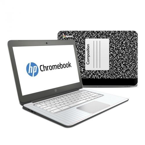 Composition Notebook HP Chromebook 14 Skin