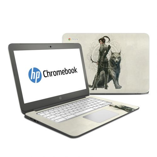 Half Elf Girl HP Chromebook 14 Skin