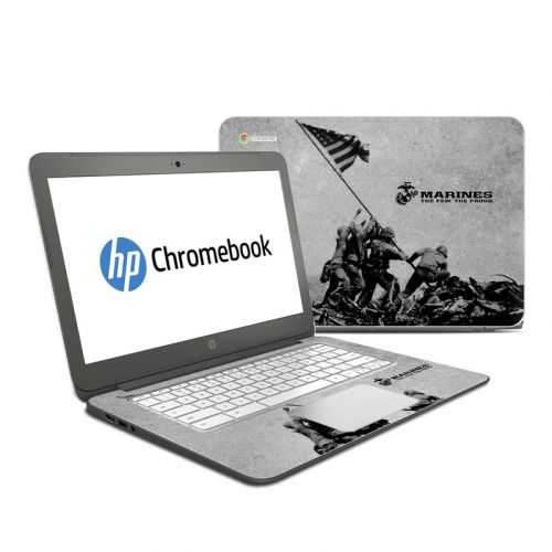 Flag Raise HP Chromebook 14 Skin